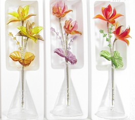 Czech Glass Flowers